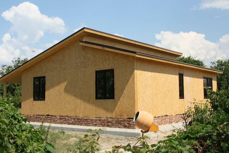 проект дома « Строим каркасные СИП дома. Видео строительства. »